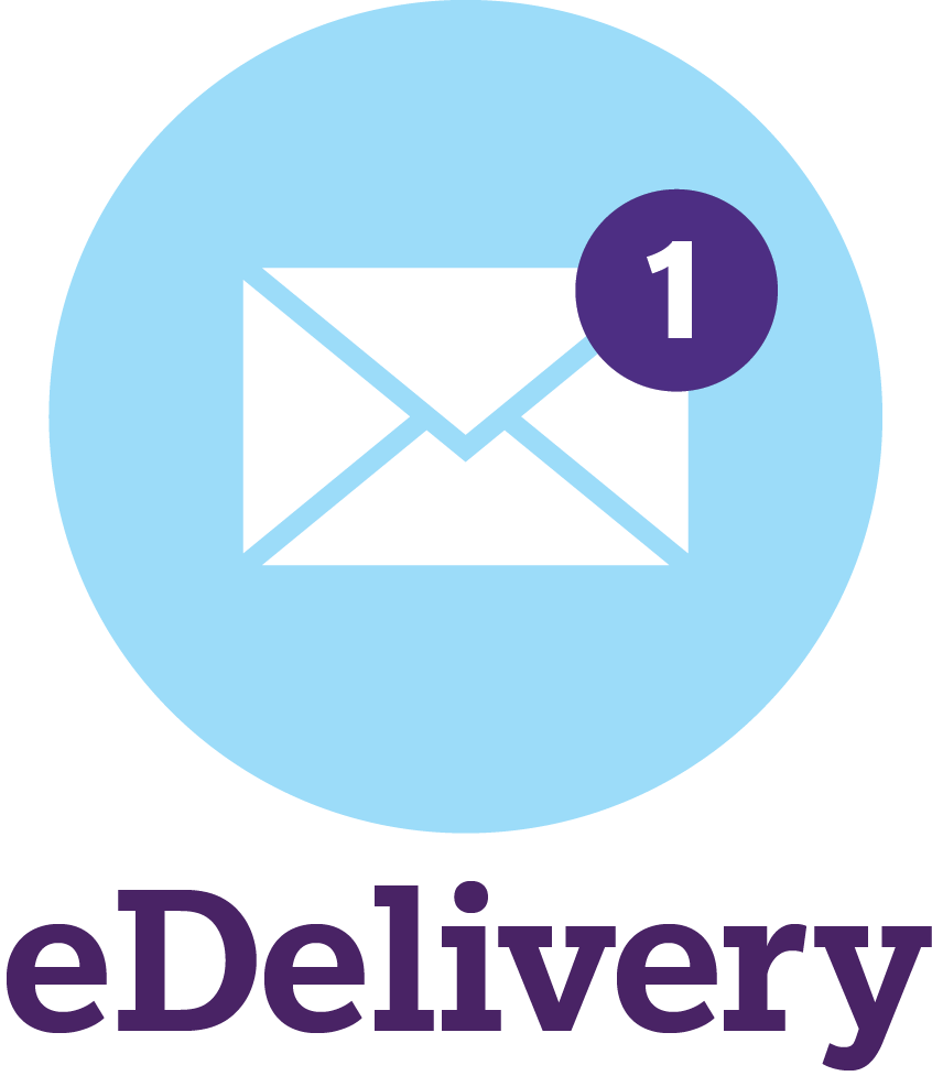 Sign up for eDelivery